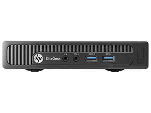 HP EliteDesk 800 G1 DM Ex Lease Mini Desktop i5-4570T 2.9 GHz 8GB RAM 500GB HDD Windows10 Pro - PC Traders New Zealand