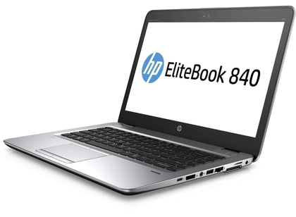 HP Elitebook 840 G3 Ex Lease Laptop i7-6600U 2.6GHz 16GB RAM 256GB SSD 14