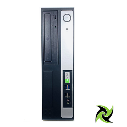Custom Built Ex-lease Desktop PC SFF i5-6400 2.7Ghz 8GB DDR4 RAM 120GB SSD DVD-R Windows 10 Home - PC Traders New Zealand