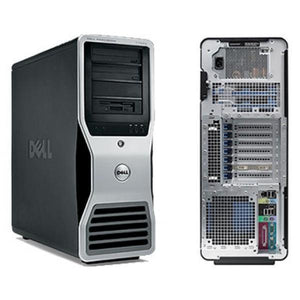 DELL Precision T3400 Tower Intel Core 2 Duo E8400 3GHZ 4 GB 320 GB DVD-ROM W10 Pro 64 bit