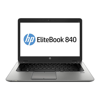 HP Elitebook 840 G2 Ex Lease Laptop i7-5600U 2.60GHz (Turbo boost  3.2Ghz) Full HD Display 16GB RAM 240GB SSD [ RADEON R7 M260X / HD Graphics 5500] No ODD 14