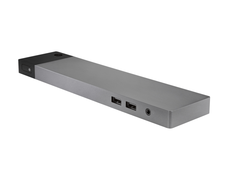 HP Thunderbolt 3 ZBook Dock with - 4 x USB Ports- Network (RJ-45) - VGA - DisplayPort - Audio Line In