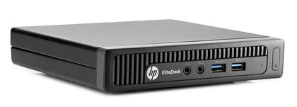 HP Ex Lease Mini Desktop EliteDesk 800 G2 Mini Intel Core i5-6500T 2.5 GHZ 8 GB 256GB SSD Windows 10 Pro Desktop - PC Traders New Zealand
