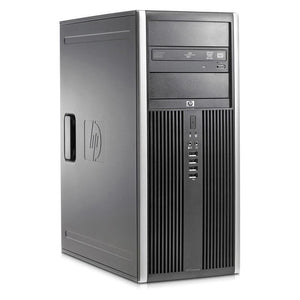 HP Compaq 8000 Elite Tower Dual Core 3GHz 4GB RAM 250GB HDD Windows 7 Pro - PC Traders New Zealand
