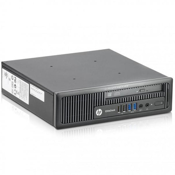 HP EliteDesk 800 G1 USDT Ex Lease Desktop i5-4590S 3 0 GHz II 8GB RAM 240GB  SSD DVD-RW Windows 10 Pro