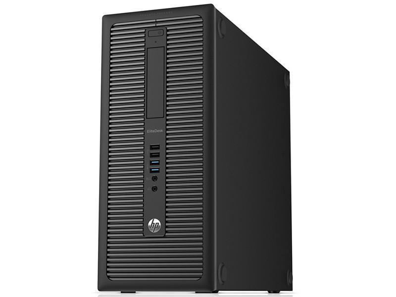 HP Elitedesk 800 G1 Ex Lease Tower PC i7-4770 3.4GHz 16GB RAM 480GB SSD Nvidia GT 710 2GB Graphics Card DVDRW Windows 10 Pro