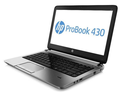 HP ProBook 430 G3 Ex Lease Laptop Intel Core i5 6200U 2.3GHz Turbo Boost 2.8GHz 16GB RAM 480GB SSD 13 Inch Screen WebCam Windows 10 Home  HDMi Port