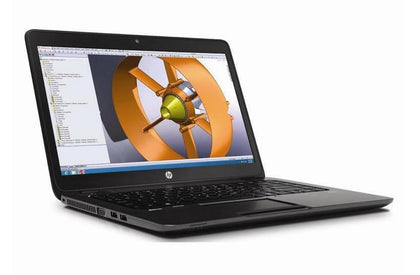 HP ZBook 14 Ex Lease Laptop i5-4200U 1.6Ghz 8GB  RAM 750GB HDD 14
