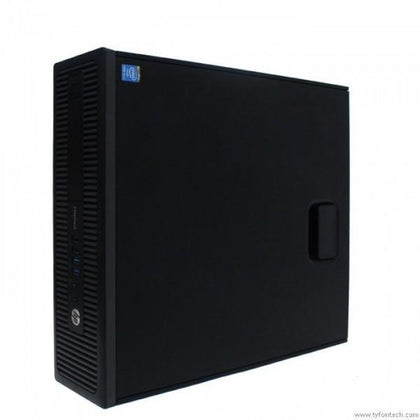HP EliteDesk 800 G1 SFF Ex Lease Desktop i5-4570 3.20GHz 16GB RAM 480GB SSD Windows 10 Home - PC Traders New Zealand
