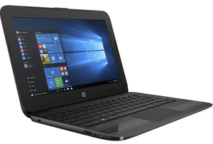 HP Stream 11 Pro G3  Ex Lease Laptop Intel Celeron N3060 1.6 GHZ Turbo 2.4GHz 4GB 64GB SSD 11.6 Inch Wide Screen WebCam Windows 10 Home