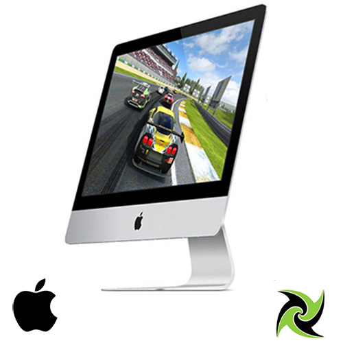 Apple iMac 2015 Retina 4K 21.5in Ex-Lease intel i5-5675R Quadcore 3.1GHz 8GB RAM 1TB HDD HD GRAPHICS 6000 NO ODD MAC OS, Free Apple Wired Keyboard and Mouse