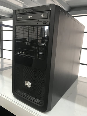 Custom Built PC Desktop Tower AMD A4-5300 APU 3.4GHz 4GB RAM 500GB HDD