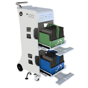 iQ 16 Cart - iPad Cart for syncing and charging - PC Locs