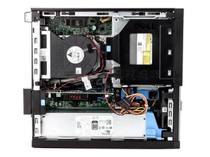 Dell OptiPlex 990 SFF i5-2500 2nd Gen Quad Core 3.3GHz  4GB RAM  250GB HDD Windows 7 Pro - PC Traders New Zealand