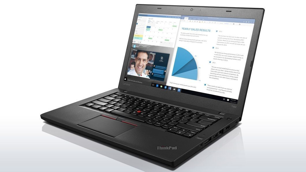 "Lenovo ThinkPad T470 Ex Lease Laptop i5-7200U Dual Core 2.50Ghz Turbo Boost 3.1 Ghz 8GB RAM 256GB SSD 14"" HD (1366x768) Webcam Windows 10 Pro"