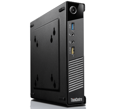 Lenovo ThinkCentre M93p Ex-Lease Tiny Desktop i5-4570T 2.90GHz 8GB RAM 240GB SSD DVD-R Windows 10 Pro Wifi Onboard - PC Traders New Zealand