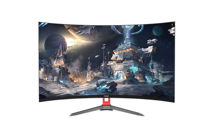 Konic 27'' Full HD Curved Gaming Monitor TVs & Accessories - PC Traders New Zealand