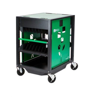 PC LOCS REVOLUTION ECO 16 BAY LAPTOP TROLLEY - PC Traders New Zealand