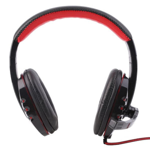 Professional Gaming Headset Surround Stereo Game Headphone Headband Earphone 3.5mm with Light Mic Micphone For Computer PC Gamer - PC Traders New Zealand