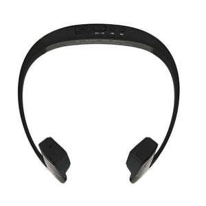 LF-18 Bluetooth 4.1 Bone Conduction Speakers Wireless Stereo Headset Sports Headphone For Running Cycling Black/White - PC Traders New Zealand
