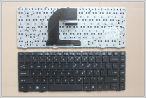 New Keyboard FOR HP 8460P 8460W 6460B 6460 8470 8470B 8470P 8470 6470 US Black border laptop keyboard  638525-001 - PC Traders New Zealand