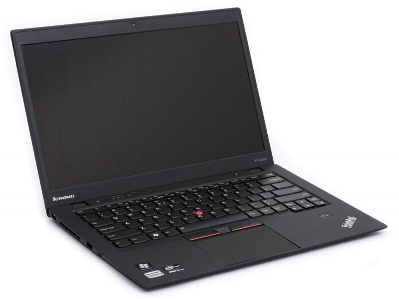 "Lenovo ThinkPad X1 Carbon G3 Intel Core i5-5300U 2.3GHz 8GB RAM 180GB SSD 14"" WEBCAM Windows 10 Pro"