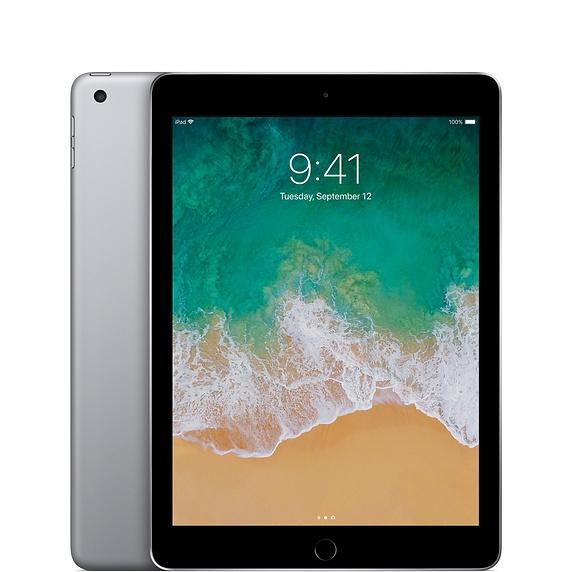 "B Grade - Apple Ex-lease iPad 5th Gen 32GB WIFI 9.7"" Color Gray lighting cable (Scratches and Blemishes on Screen)"