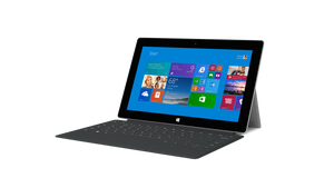 Microsoft Surface 2 with Keyboard Cover NVIDIA Tegra 4 1.7GHz 2GB RAM 32GB Storage 10.6 Inch 1920x1080 WebCam Windows RT 8.1.