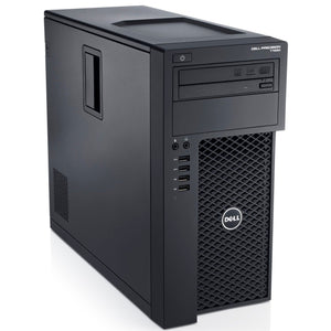 Dell T1650 Tower PC Ex Lease Desktop i7-3770 3.40GHz 8GB 500GB HDD RAM 2GB Nvidia GT710 DVD±RW Windows 10 Pro - PC Traders New Zealand