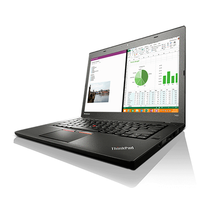 Lenovo ThinkPad T450 Ex Lease Laptop i5-5300U Dual Core 2.3GHz Turbo 2.9GHz 8GB RAM 256GB SSD 14