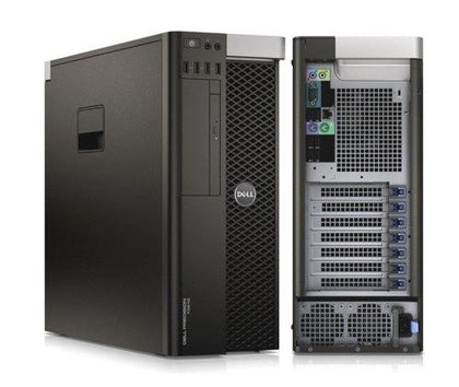 Dell Precision T3610 Tower Xeon E5-1650 v2 3.5GHz 64GB RAM 512GB SSD 2GB DDR5 Nvidia Quadro K2000 DVD±RW Windows 10 Pro - PC Traders New Zealand