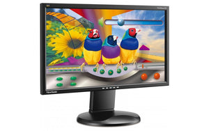 "ViewSonic VG2228wm 22"" Full HD LED Monitor - B Grade (Missing Stand, Ideal Used with VESA Mount) - PC Traders New Zealand"