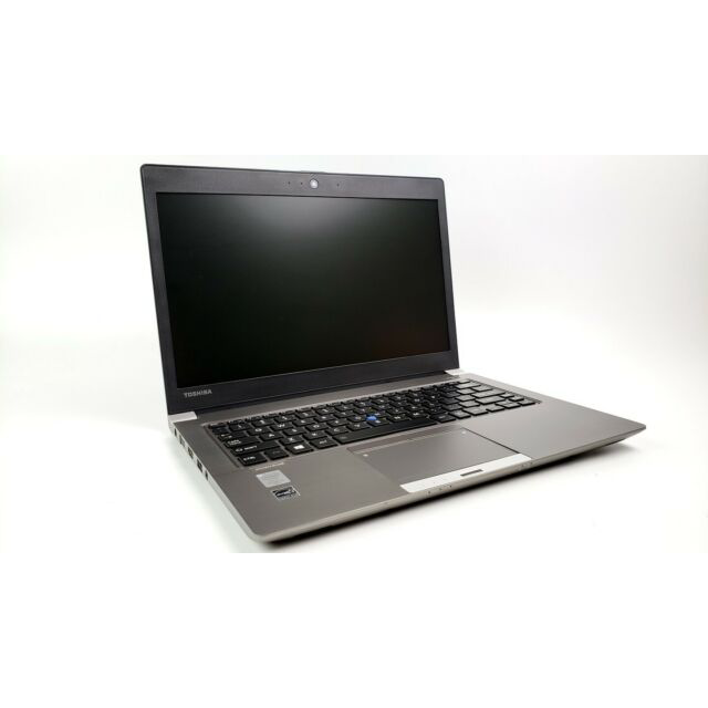 "Toshiba Portege Z30-B Ex Lease Ultrabook Laptop i5-5300U 2.30GHz 8GB RAM 128GB SSD 13.3"" HD Graphics 5500 No ODD WebCam Windows 10 Pro"