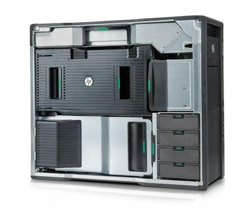 HP Z820 Workstation Ex Lease 2x Intel Xeon E5-2630 2.30GHz 12 Cores Total 15MB cache 64GB RAM 4 x 2TB HDD Quadro P620 DVDRW Windows 10 Pro