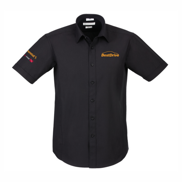 BestDrive | Corporate Shirt - Mens Short Sleeve