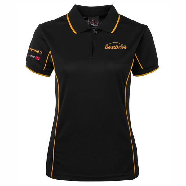 BestDrive | Contrast Polo - Ladies