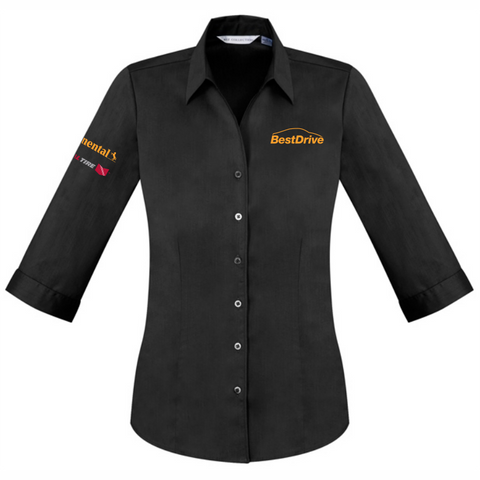 BestDrive | Corporate Shirt - Ladies 3Q Sleeve