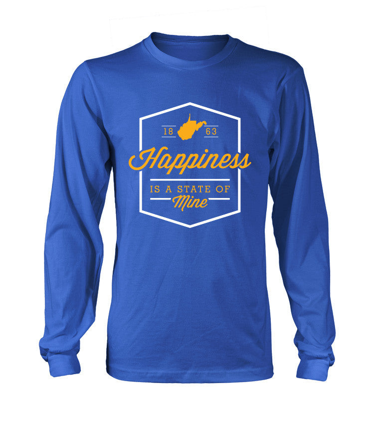 """Happiness WV"" - Blue LS"