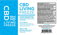 CBD Living Freeze Topical Roll On