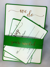 Sophisticated Wedding Invitation SVG Cut Set for Cricut Explore