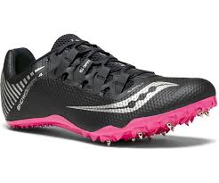 Saucony Showdown 4 Black/Pink (Womens)