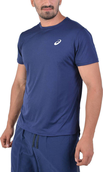 Asics Silver Short Sleeve Top (Men's) Multiple Colours