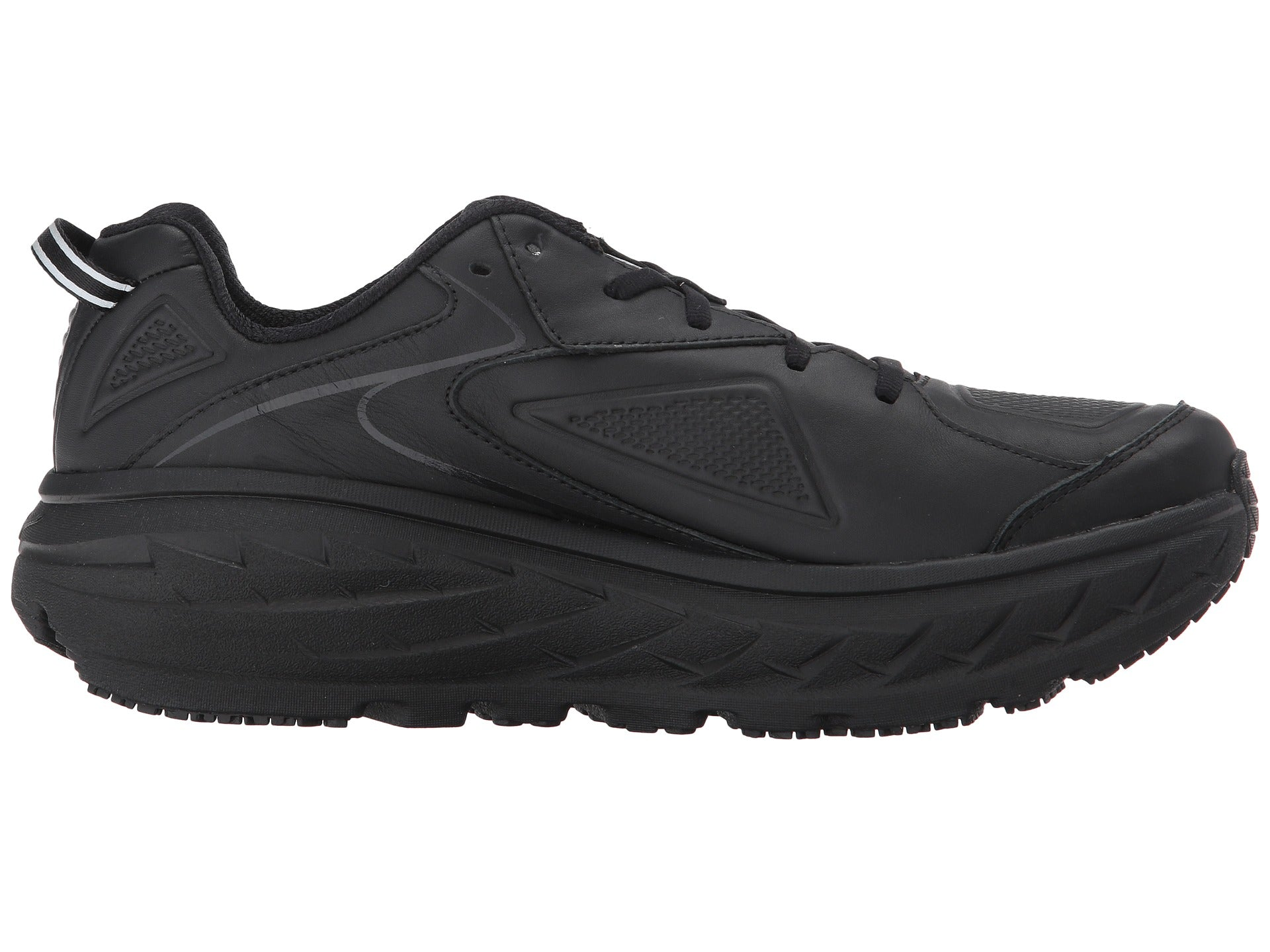 Hoka Bondi Leather (Men's) Black