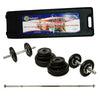 Ringmaster 50kg Weight Set with 2pc Bar and Carry Case