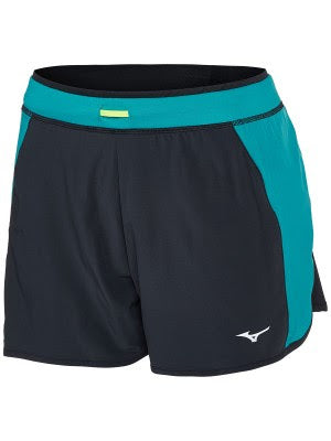 Mizuno Alpha 4.0 short black/Tile Blue (W)