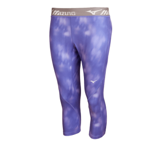 Mizuno Impulse 3/4 printed tight blue iris (W)