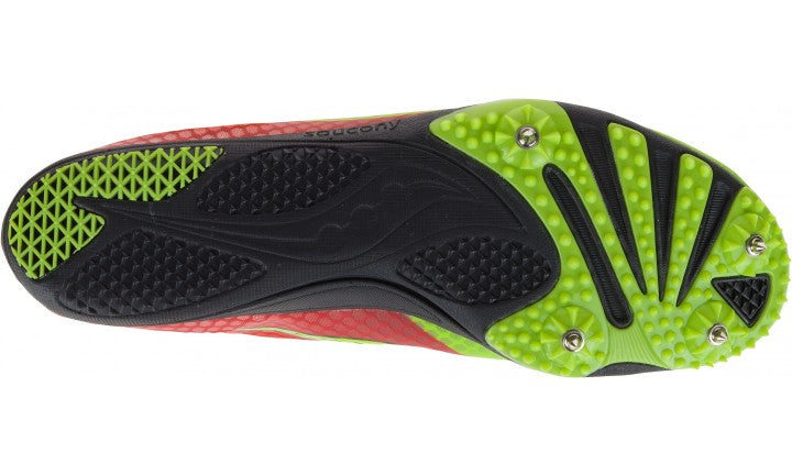 Saucony Endorphin Red/Black/Citron (M)