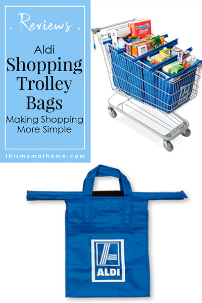 Aldi Shopping Trolley Bags Product Reviews - Ausralian Mummy Blogger & Vlogger This Mum At Home #aldi #shoppingtrolleybags #groceryshopping #mealplanning