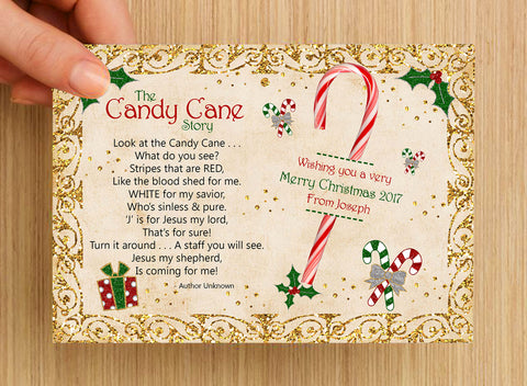 image about Candy Cane Story Printable named A Much better Direction Towards Offer you A Sweet Cane - with Free of charge printable