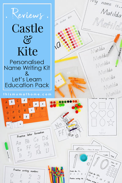 Educational learning kits castle kite product review this mum castle kite education kits product reviews australian mummy blogger vlogger this mum at spiritdancerdesigns Choice Image